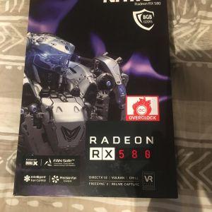 Κάρτα Γραφικών AMD Sapphire Nitro+ Radeon RX 580 8GB GDDR5