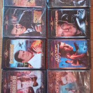 9 dvd James bond