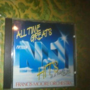 CD FRANCIS MOORE ORCHESTRA-ALL TIME GREATS