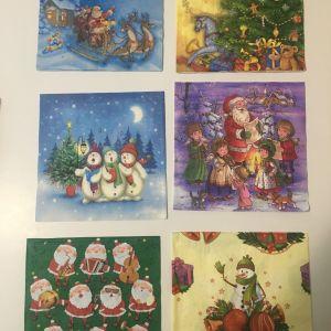 Χαρτοπετσέτες - Χριστουγεννιάτικη συλλογή