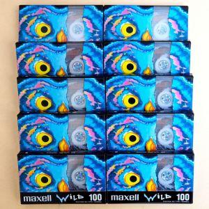 Κασέτες ήχου σφραγισμένες 10x, Wild 100 Maxell