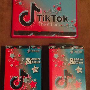 1 αλμπουμ & 2 κουτιά φακελάκια με κάρτες Tik Tok (πακέτο)
