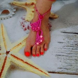Κοσμήματα *Barefoot* για τα πόδια . Καινουργια.