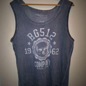 αμάνικο ανδρικό T-shirt large