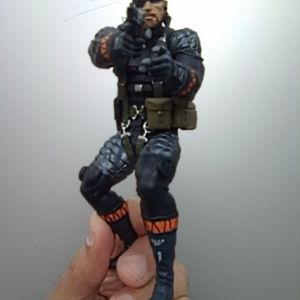 """Φιγούρα Snake """"Metal Gear 20th Anniversary"""" [Medicom Toy]"""