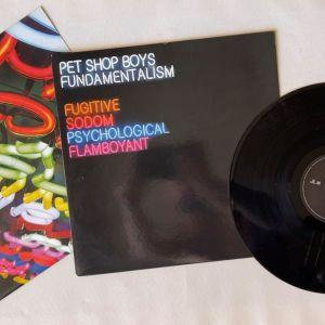 PET SHOP BOYS - FUNDAMENTALISM LIMITED EDITION LP. ΑΠΑΙΧΤΟ. ΚΑΙΝΟΥΡΙΟ.