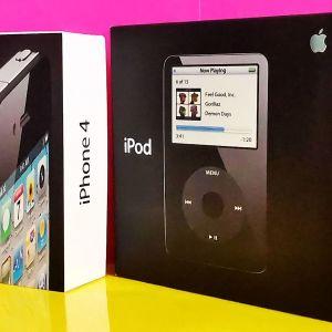 iPhone 4 16GB-Apple Ipod Classic 30GB