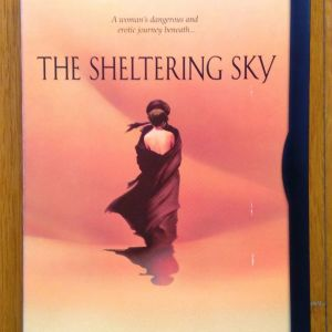 The sheltering sky dvd