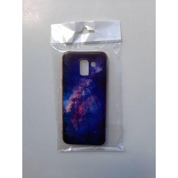 Back Cover silikonis me schedio thiki gia Samsung Galaxy J6 2018