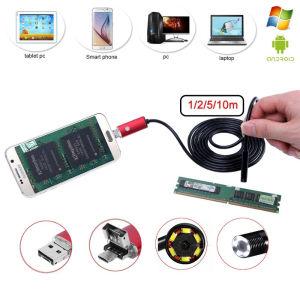 USB ενδοσκοπική αδιάβροχη κάμερα για συσκευές Android και Ηλεκτρονικούς Υπολογιστές.Καταγράφει video