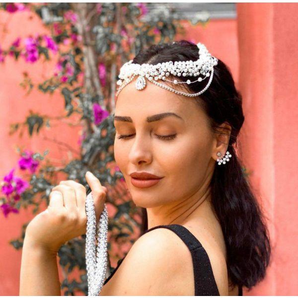 nifiko headpiece (kouaf) Briella Collection aforeto!