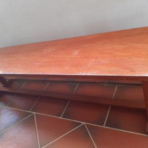 παγκάκι ξύλο μασιφ