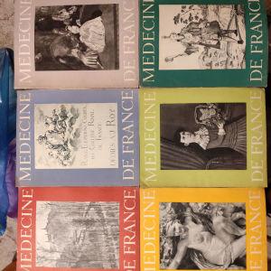 παλιά γαλλικά ιατρικά περιοδικά με γκραβούρες στα 3 ευρώ ανά τεμάχιο