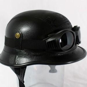 Κράνος Retro German helmet 2WW μαύρο