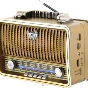 Ασύρματο επαναφορτιζόμενο ρετρό ραδιόφωνο Kemai MD-1909BT