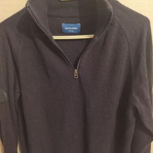 Ανδρική βαμβακερή μπλούζα half zip μεγέθους large