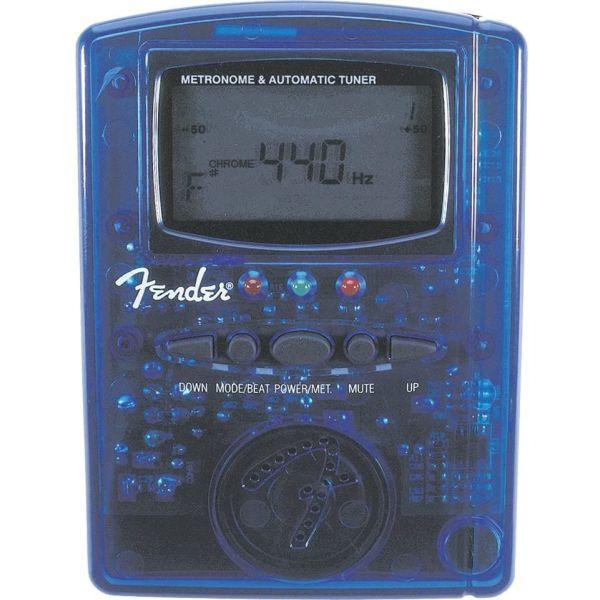 Fender MT-1000 chromatiko kourdistiri / psifiakos metronomos ( kokkino diafanes )