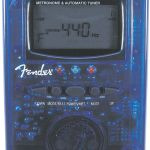 Fender MT-1000 Χρωματικό Κουρδιστήρι / Ψηφιακός Μετρονόμος ( Κόκκινο Διαφανές )