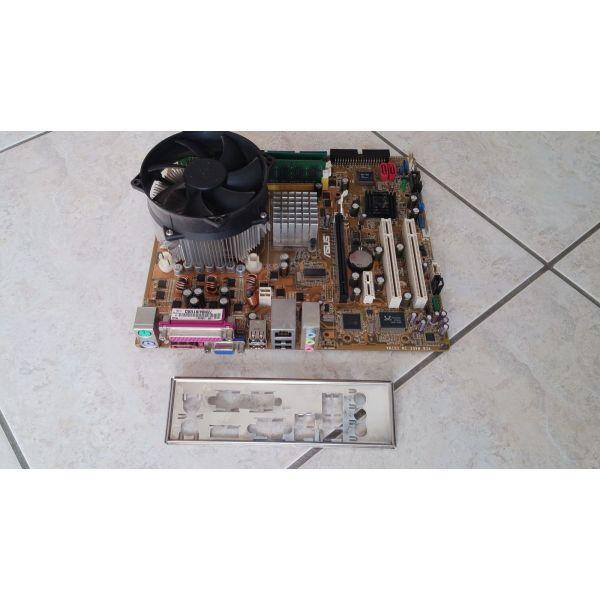 plires Motherboard ASUS P5VD2VM me epexergasti-P4-650-3.4GHz me psiktra, & RAM-3GB