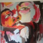 Che Guevara λάδι σε καμβά 150x150 cm