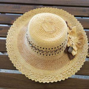 Γυναικείο ψάθινο καπέλο
