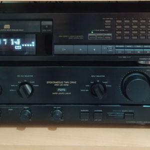 ενισχυτης SONY F 270  και CD SONY 791