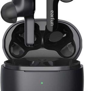 Ακουστικά EarFun Air Pro TW200 με 4 μικρόφωνα, Bluetooth 5.0  Touch Headphones, USB-C Fast Charging with Wireless Charging, Deep Bass, In-Ear Detection Headphones, 35H Playtime