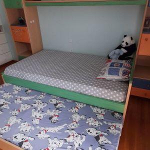 Σύνθεση NEOSET Εφηβικού Δωματίου - Κρεβάτι