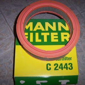 MANN C 2443 AIR FILTER FSO FIAT LANCIA YOUNGTIMER MORGAN BETA 124-131-132-ARGENTA-RITMO-SEAT124