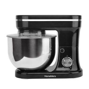 HomeVero Επιτραπέζιο μίξερ – Κουζινομηχανή 1200W σε μαύρο χρώμα HV-24461BL