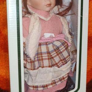 Πορσελάνινη κούκλα χειροποίητη συλλεκτική