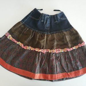 Παιδική φούστα για κορίτσι 6-8 ετών