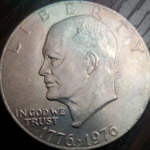 ΟΝΕ DOLLAR 1776-1976 Επετειακο