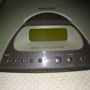 Ψηφιακό Ρολόι - Ραδιόφωνο Fhilips AJ3720/00