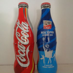 Coca Cola συλλεκτική Ολυμπιακοί Αγωνες 2004 Καιρο-Νεα Υορκη