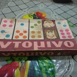 """Παιχνίδι επιτραπέζιο """"Ντόμινο"""""""