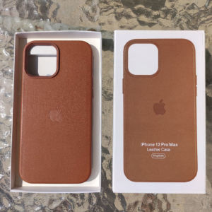 Apple Leather Case Brown IPhone 12 Pro Max
