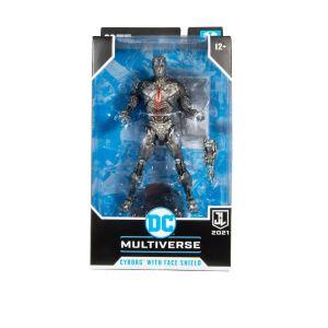 NEW McFarlane Toys DC Justice League Movie Action Figure Cyborg (Helmet) 18 cm
