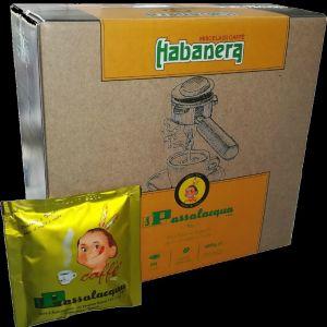 PASSALACQUA ESPRESSO - HABANERA - BOX 50 PODS ESE44 / 7.3g