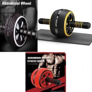 Ρόδα Εκγύμνασης Κοιλιακών-ABDOMINAL MUSCLE FITNESS WHEEL