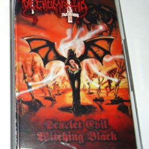 Necromantia - Scarlet Evil Witching Black (Κασέτα)