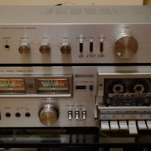 JVC A-S3 + KD-A2 Ενισχυτής και Κασετόφωνο