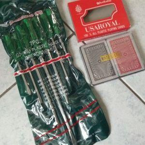 Κατσαβίδια σετ 7τμχ + 2 πλαστικές τράπουλες