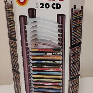 ΞΥΛΙΝΗ ΘΗΚΗ ΓΙΑ 20 CD