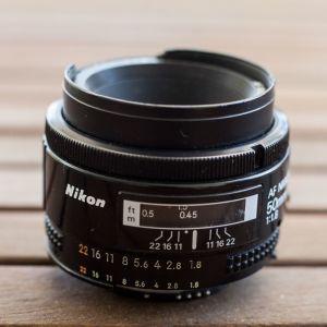 Φακός NIKON 50mm 1.8