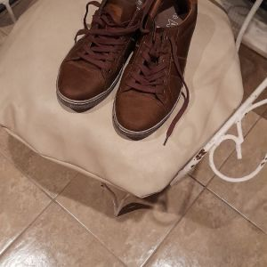 Admiral sneakers ελαχιστα χρησιμοποιημενα δερματινα