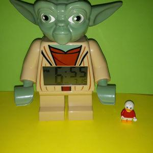 Lego Star Wars Yoda ρολόι  ξυπνητήρι