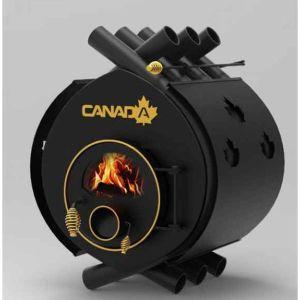 Σόμπα Ξύλου Πυρόλυσης - Canada 00 με τζάμι