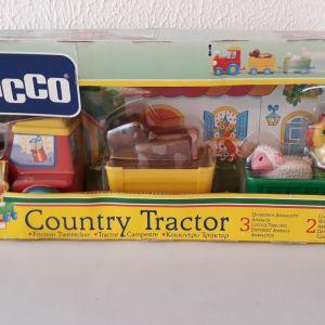 Παιχνίδι της CHICCO VINTAGE COUNTRY TRACTOR κλειστό  στο κουτί του