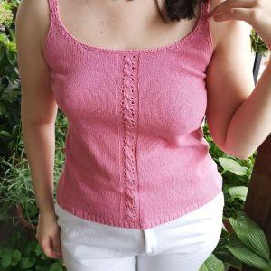 Vintage candy pink μπλουζα